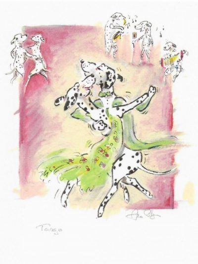Tango Greetings Cards